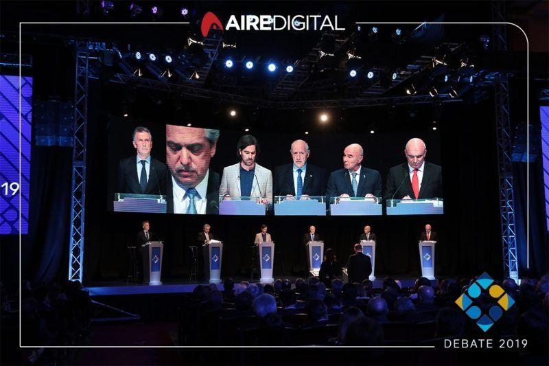 La corrupción fue el tema más candente del debate final, a una semana de las elecciones