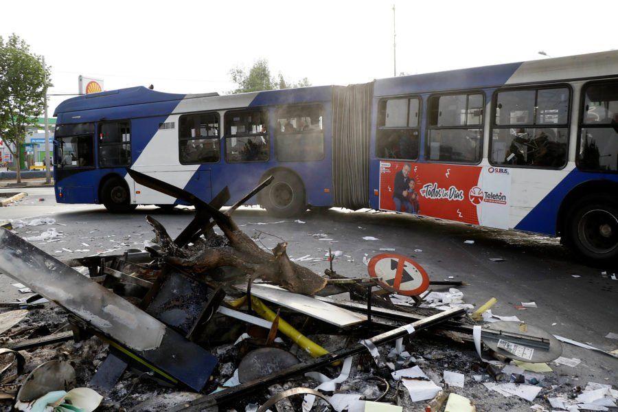 Chile: así es el proyecto que congela el alza de las tarifas del transporte público