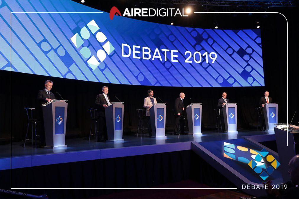 Durante el debate, la agenda ambiental no existió para los candidatos a presidente