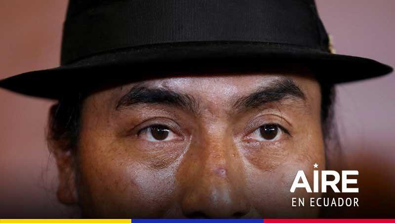 """Leónidas Iza, el aclamado líder indígena que sueña con """"la gran Evo Morales"""""""
