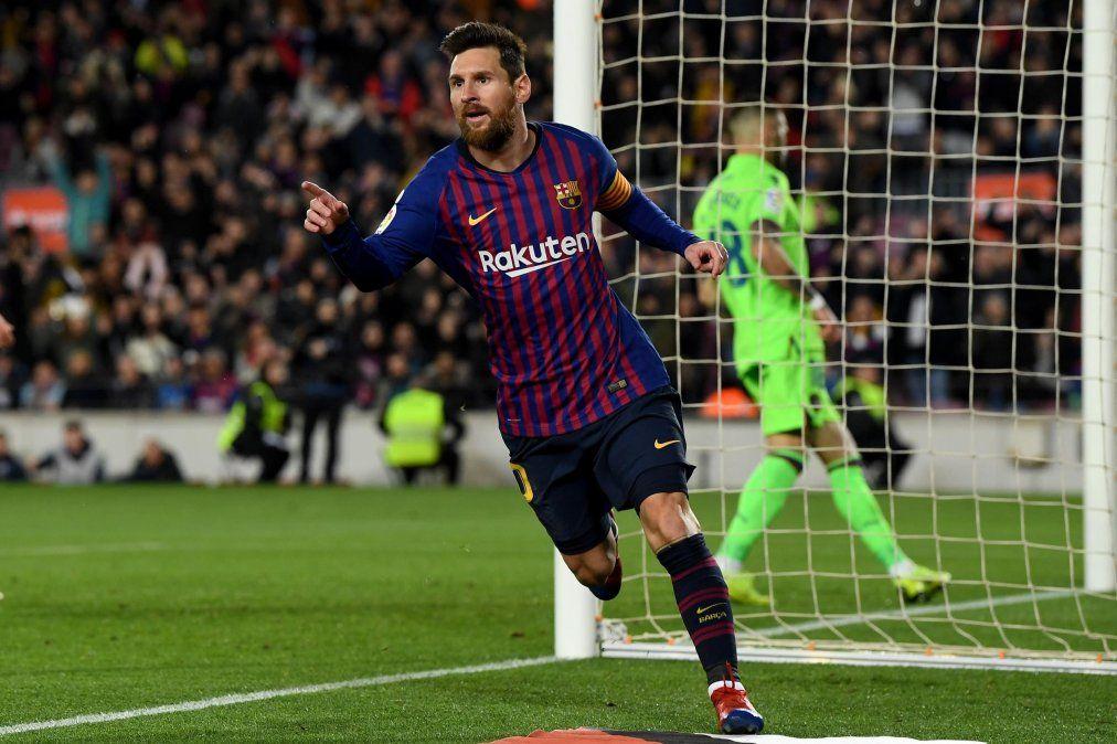 Lionel Messi forma parte del once ideal del 2019 de la UEFA