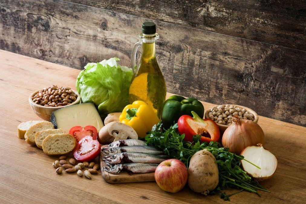 dieta mediterránea para bajar de peso