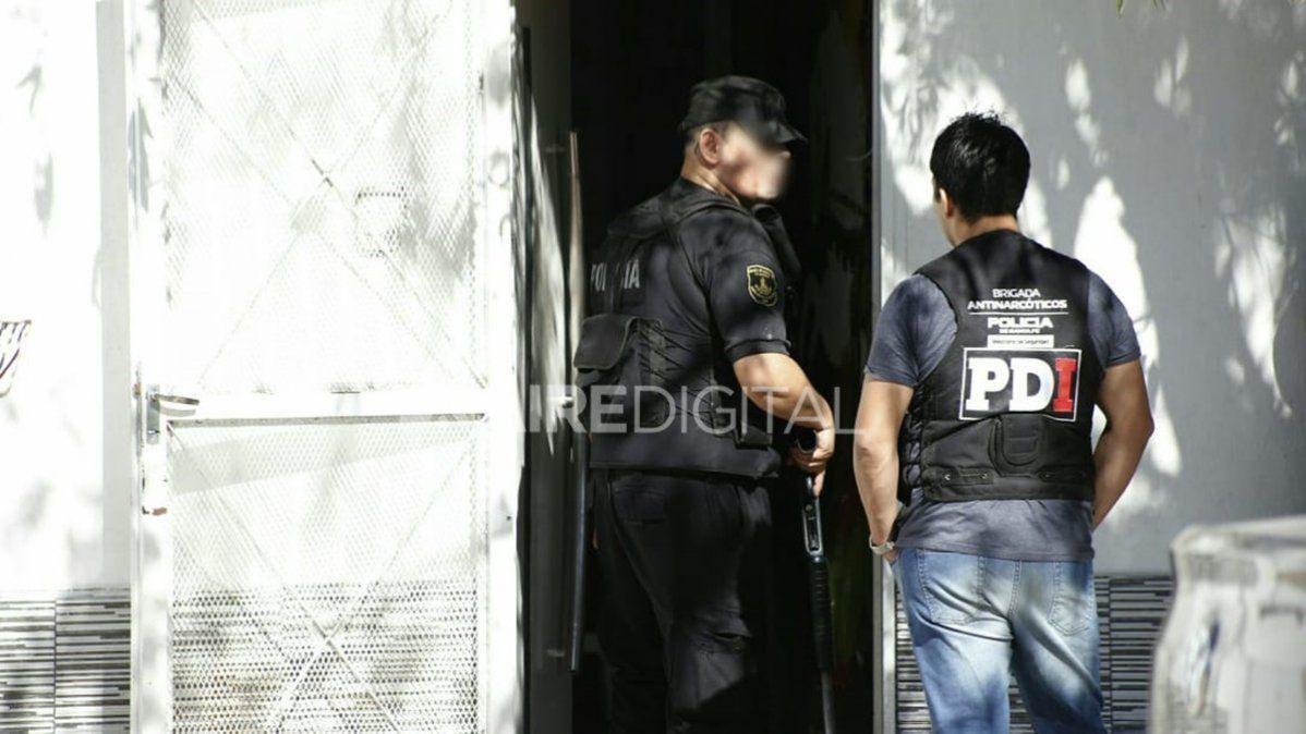 Múltiples allanamientos en Santa Fe por una mega causa de narcotráfico