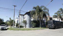 Guadalupe residencial. Una de las propiedades allanadas por la PDI.