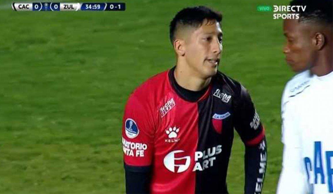 Se lesionó Aliendro y se pierde la final de la Copa Sudamericana