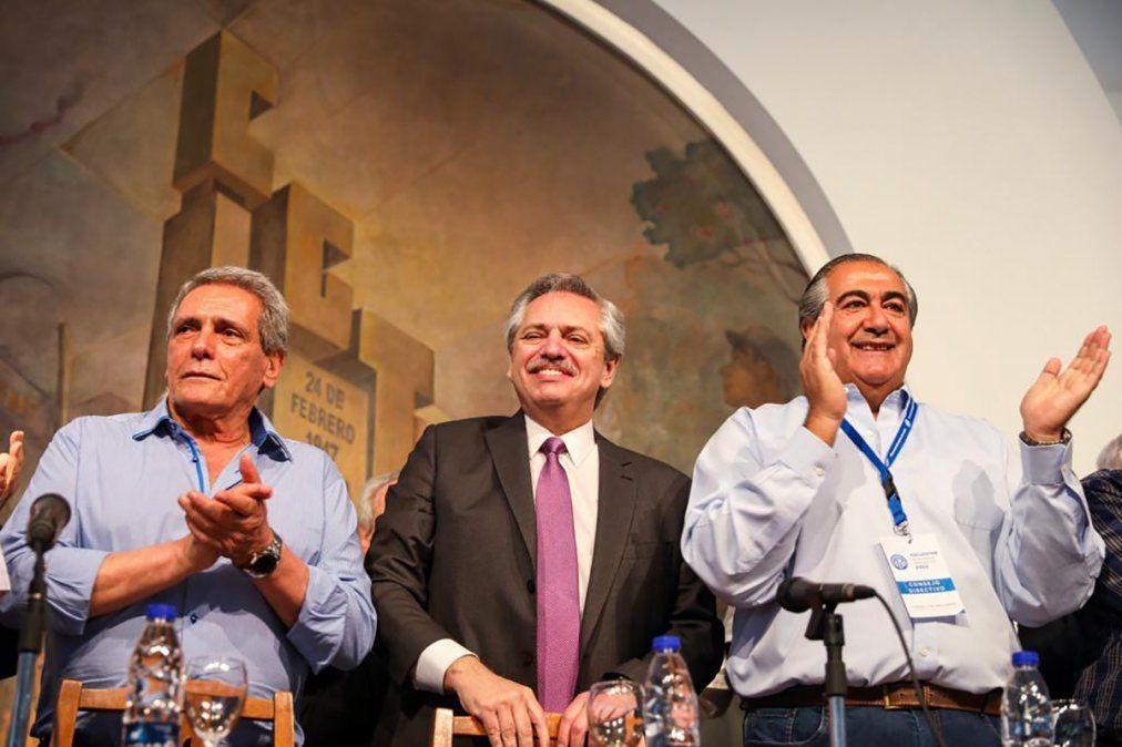 Fernández dijo que la CGT tendrá una participación importante en su gobierno