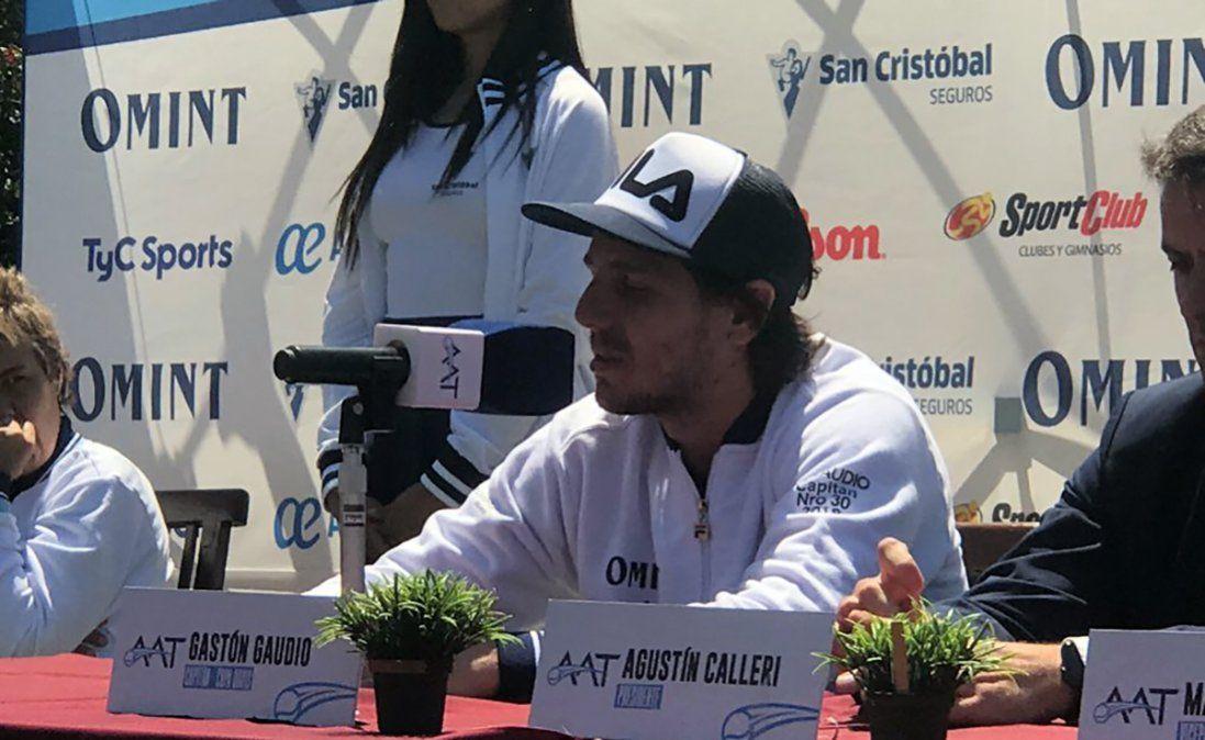 Gaudio habló antes de viajar a Madrid y dijo que dará pelea por el título en la renovada Copa Davis
