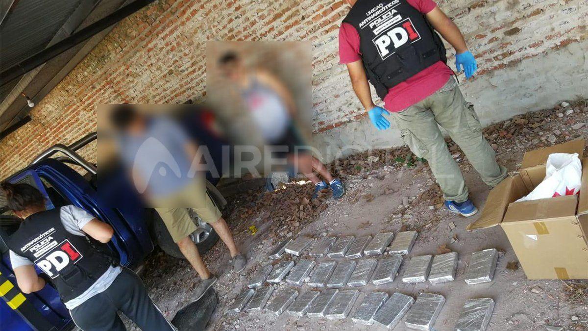 Los procedimientos fueron realizados por la Brigada Antinarcóticos de PDI con la participación de testigos de actuación