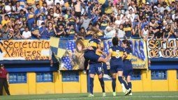 Boca Juniors apabulló a Defensores de Belgrano y sigue liderando la tabla