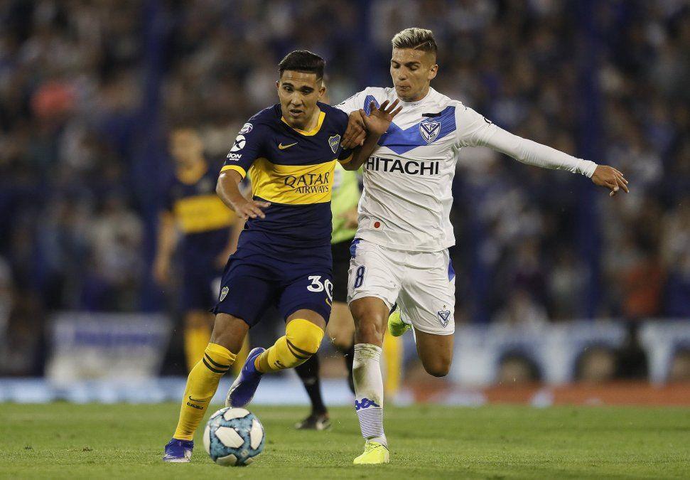 Boca empató 0 a 0 con Vélez en Liniers y le alcanzó para volver a la cima