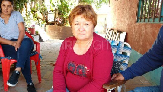 Esmeralda, la viuda de Ángel Monzón, el hincha fallecido de un infarto en Asunción del Paraguay