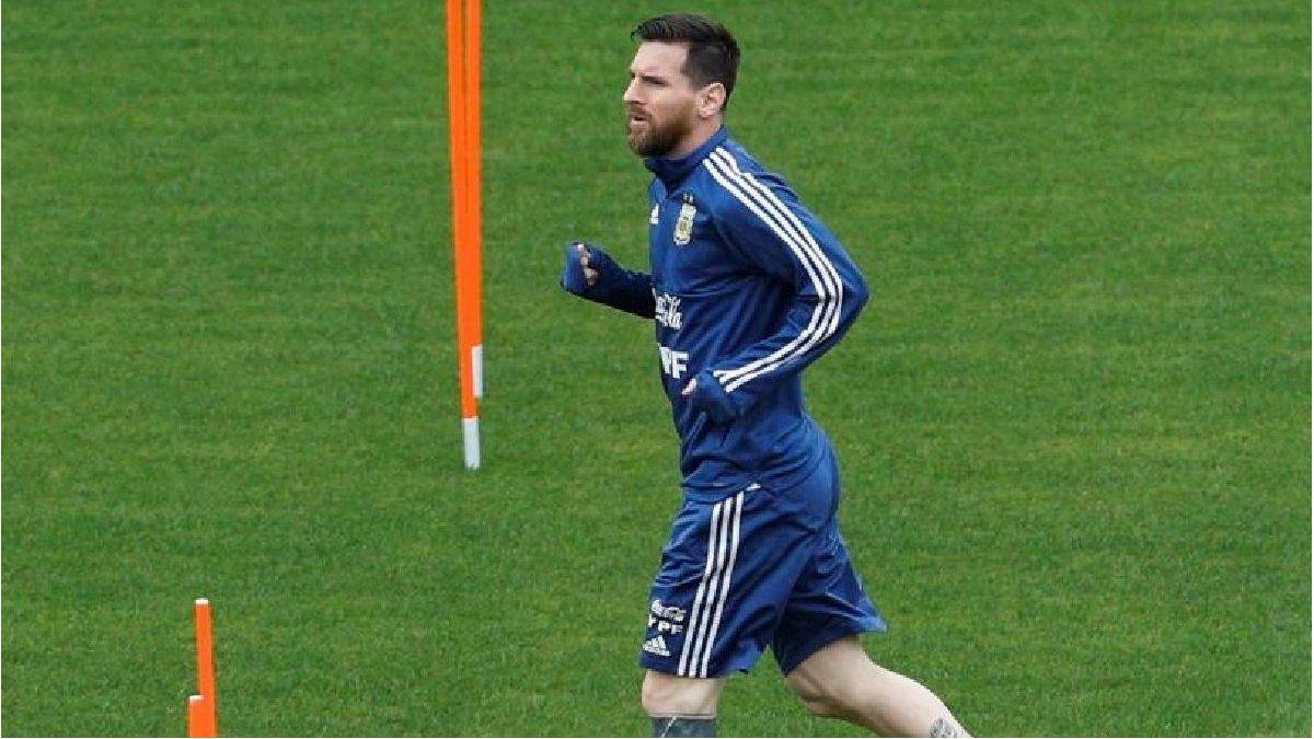 Con Lionel Messi, Argentina entrenó por primera vez en Mallorca