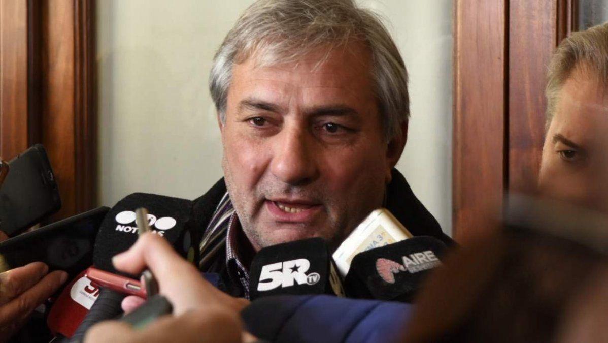 Rubén Michlig, representante de Omar Perotti en las negociaciones de transición.