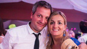 La dolorosa despedida del esposo de Gabriela Degiorgio
