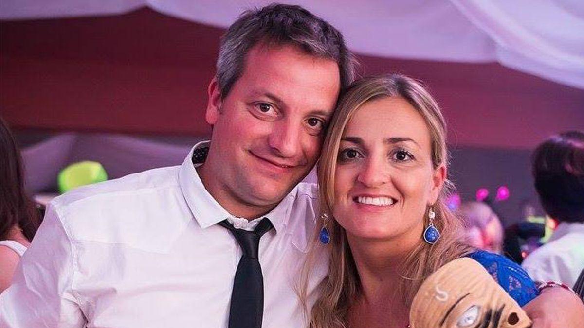 La dolorosa despedida del esposo de Gabriela Degiorgio: