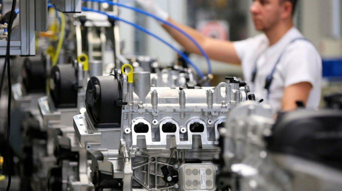 La capacidad instalada de la industria se ubicó en septiembre en 57,7%, mínimo en 8 meses