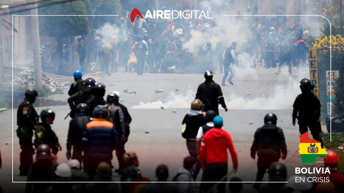 Bolivia y una jornada tensa: en La Paz no aceptan la vuelta a la normalidad que impulsan Áñez y Camacho