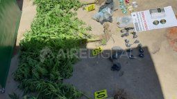 Allanaron una vivienda en Colastiné Norte y encontraron marihuana y cocaína