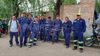 15 despidos, el obrador cerrado y cuatro trabajadores sin realizar tareas en el Desagüe Espora
