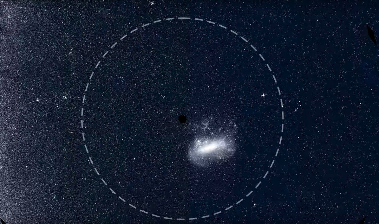 La Nasa reveló espectaculares imágenes del cielo en el hemisferio sur