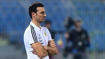 Lionel Scaloni destacó que el seleccionado argentino juega bien