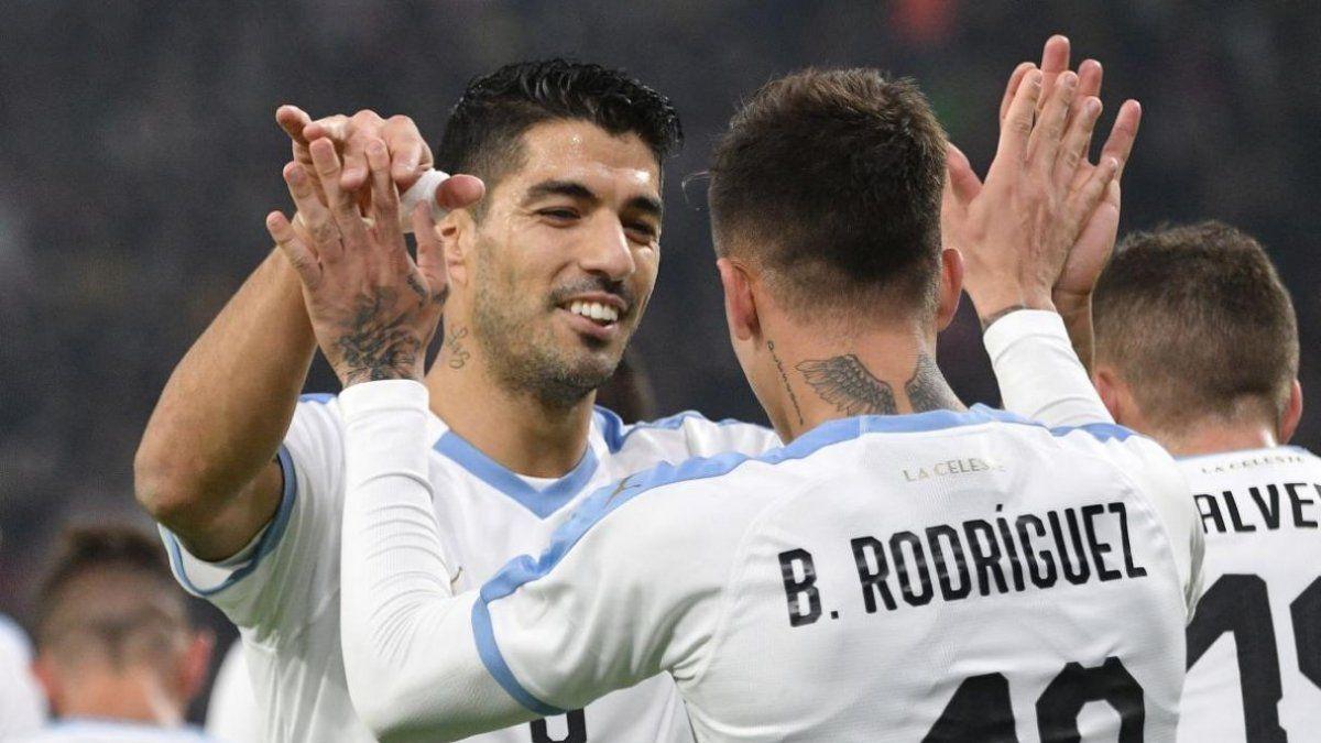 Uruguay llegó a Israel para el amistoso con Argentina