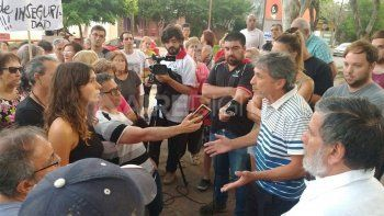 Cruces con el intendente de Rincón: