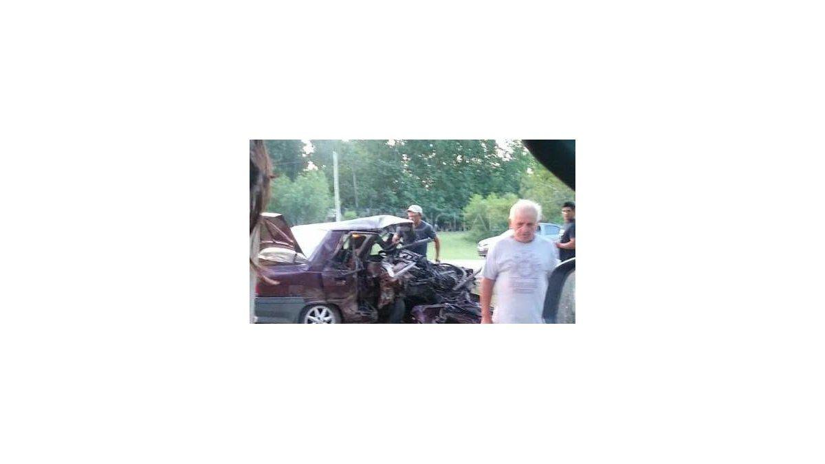 Accidente fatal en ruta 1: falleció una mujer tras el choque de frente de dos autos