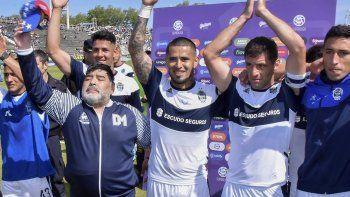 Fecha a fecha, así fue el paso de Maradona por Gimnasia y Esgrima de La Plata
