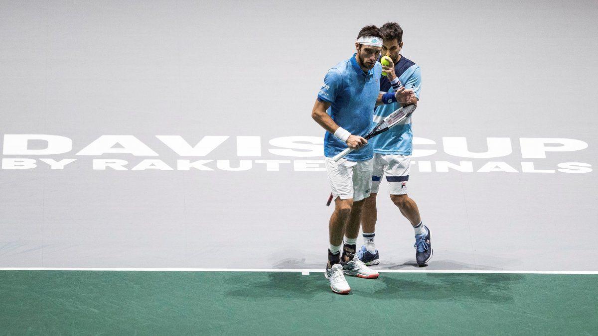 Argentina también ganó en dobles y barrió a Chile 3 a 0 en la Copa Davis