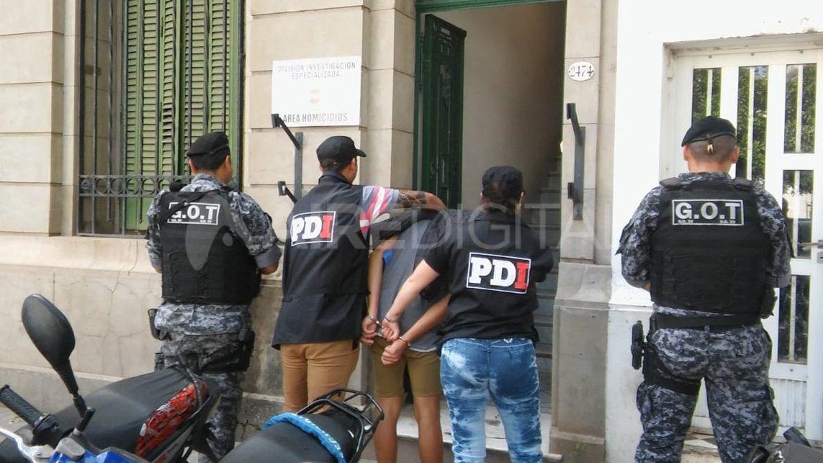 El joven fue trasladado a la sede de la División Homicidios de la PDI.