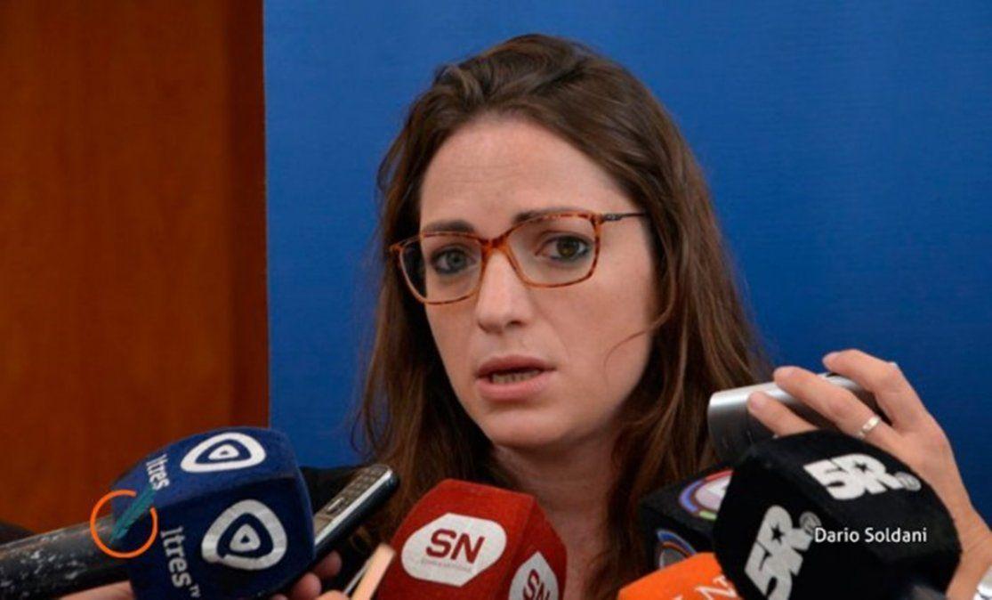Valeria Haurigot, fiscal de la Unidad de Investigación y Juicio -MPA Rosario-.