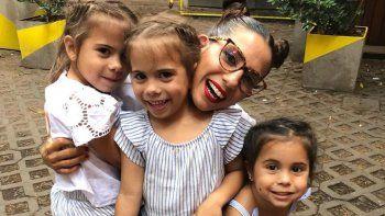 Cinthia Fernández introdujo a sus hijas en el universo youtubers
