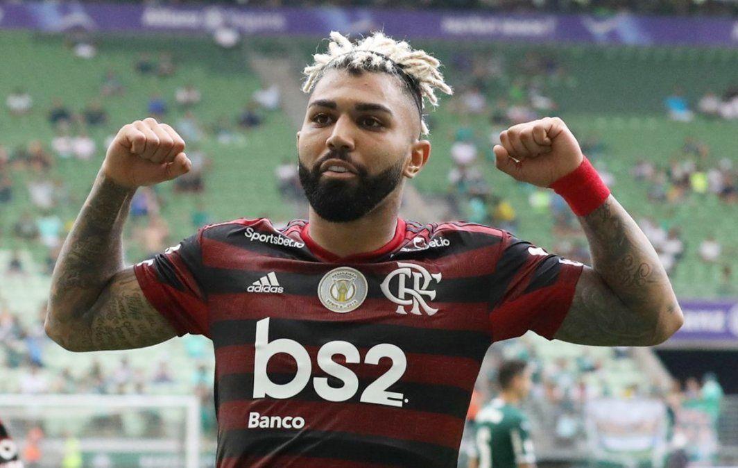 Dos goles de Gabigol en un nuevo triunfo de Flamengo