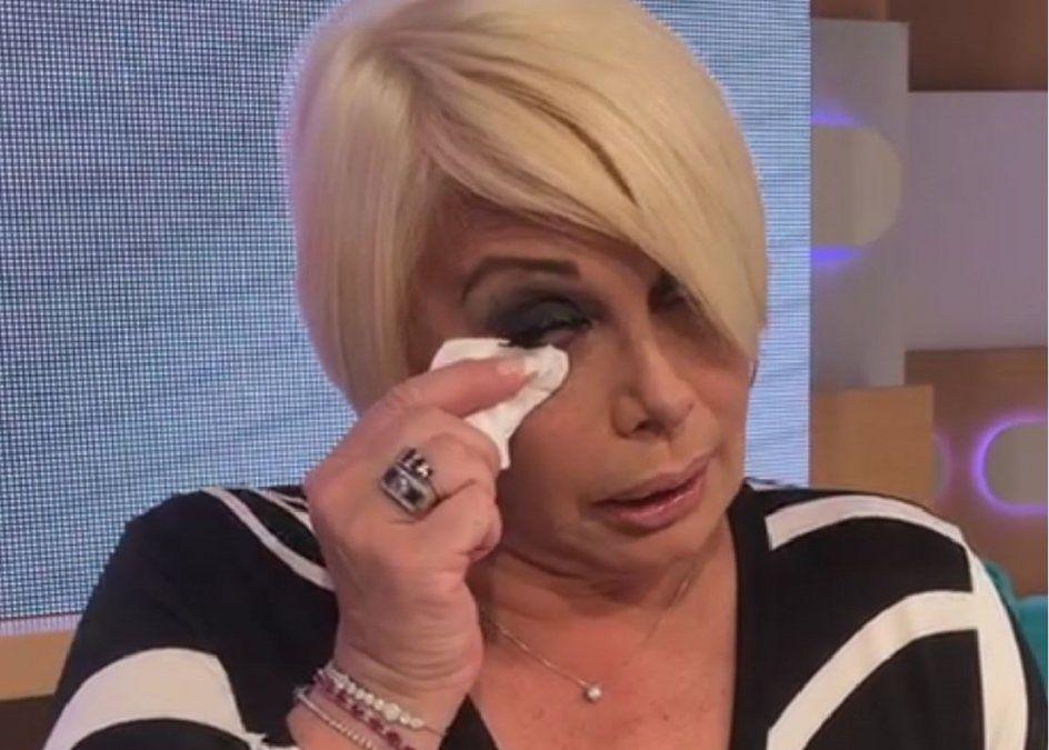 El conmovedor posteo de Carmen Barbieri: Me despierto llorando y me duermo llorando