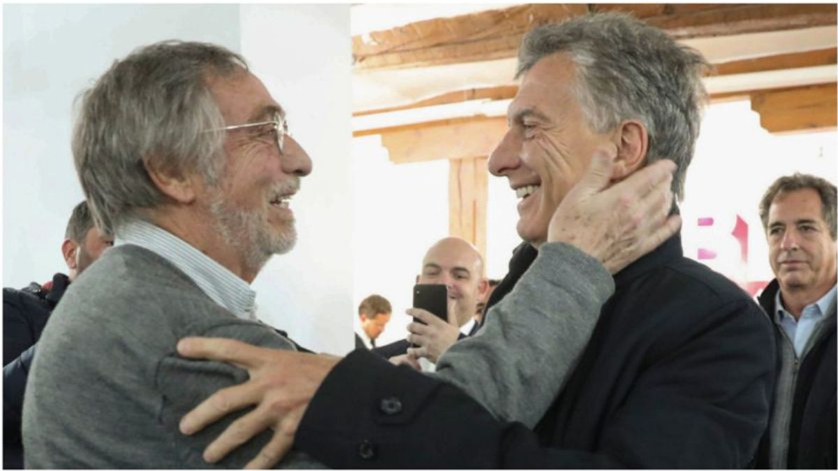 Mauricio Macri y Luis Brandoni se reunieron en Madrid