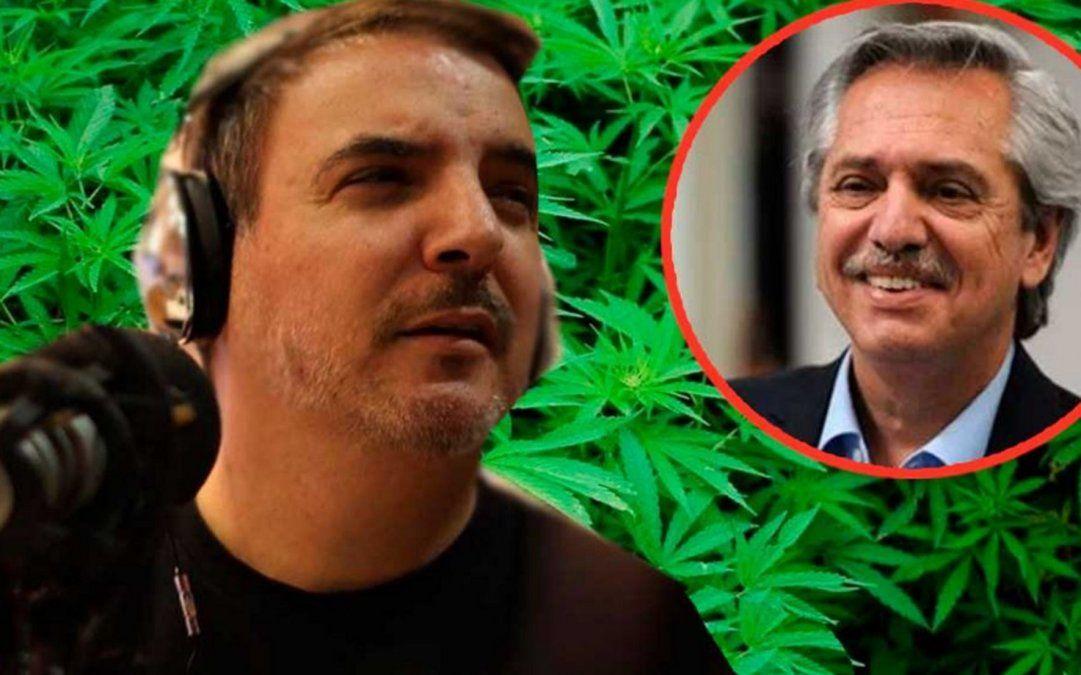 La llamativa propuesta de Diego Ripoll a Alberto Fernández: El cannabis puede ser tu nueva soja