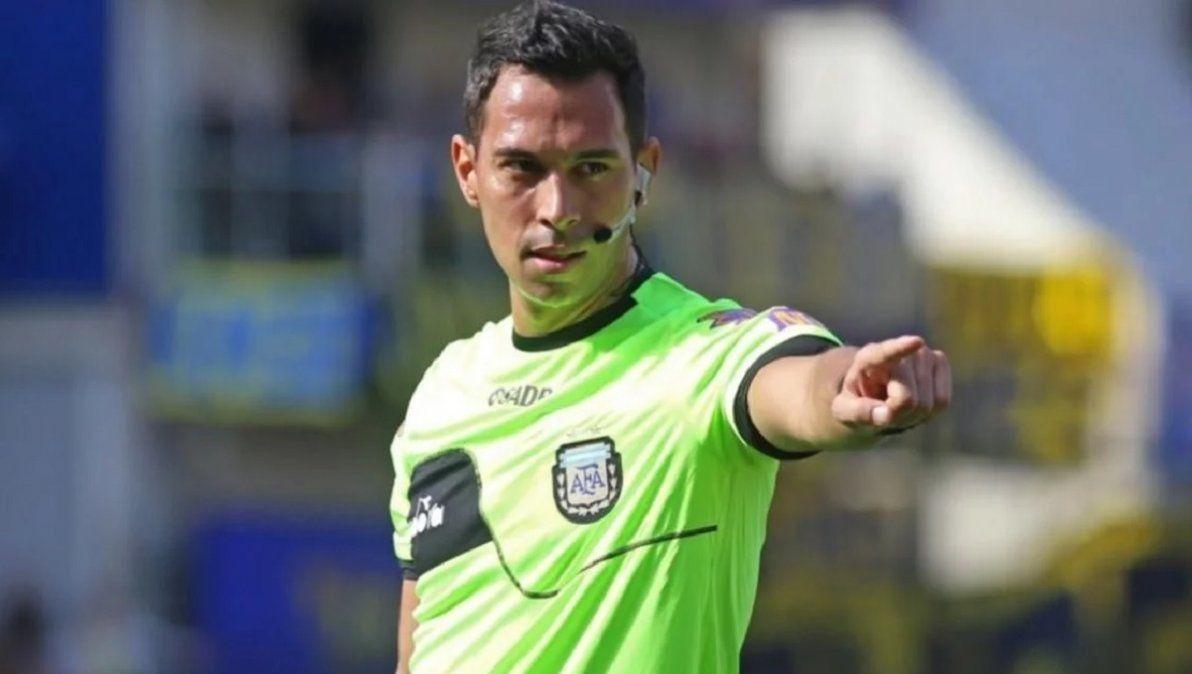 Facundo Tello será el árbitro de la final de Copa Argentina