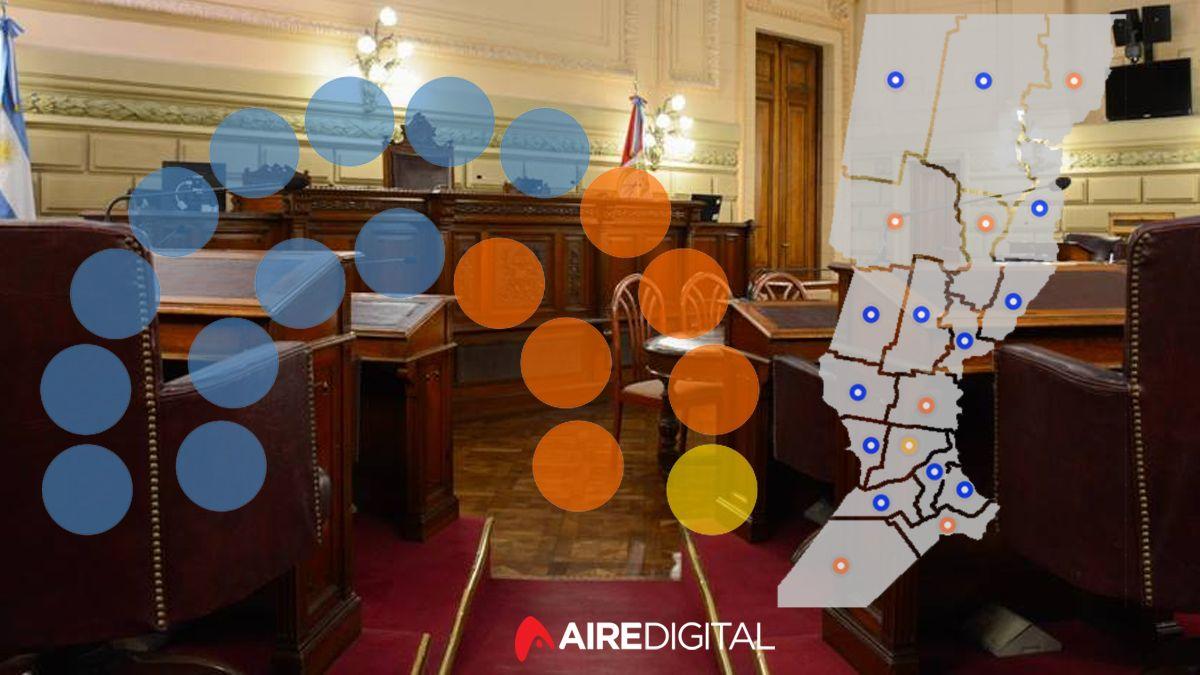 Asumieron los senadores de la Provincia de Santa Fe y así quedó conformado el mapa político
