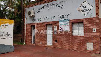 Por las deudas de la gestión Corral, la vecinal Juan de Garay desaloja la oficina municipal que allí funciona