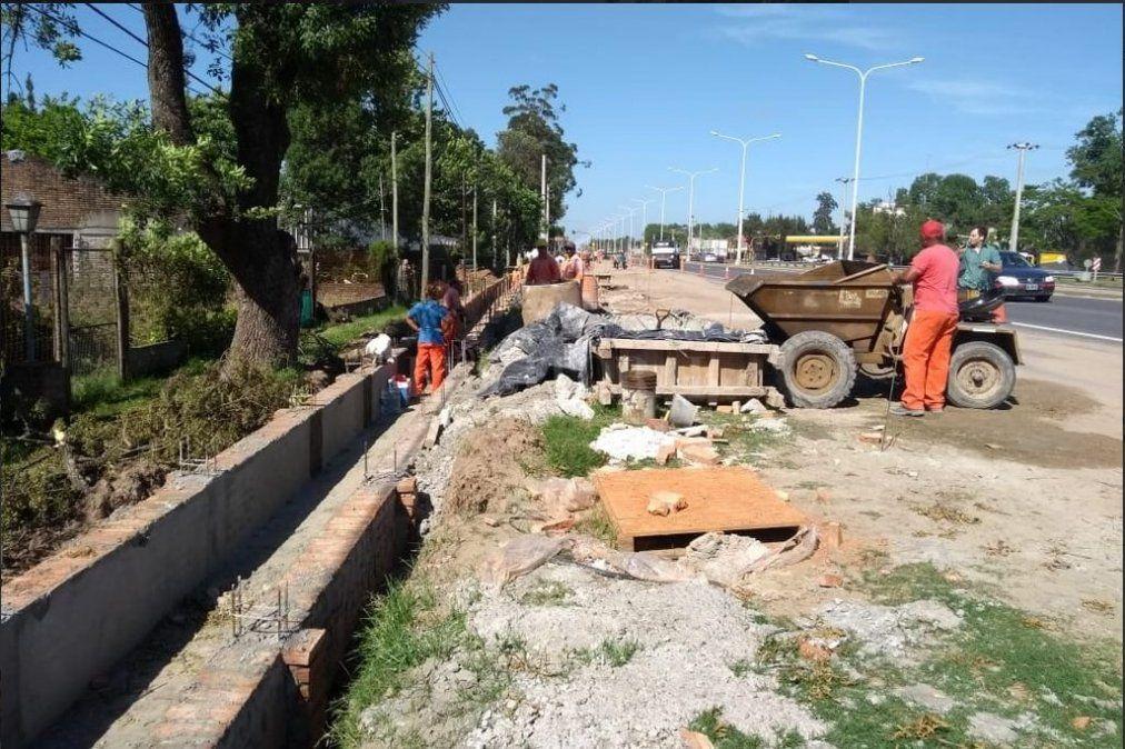Peligran la continuidad de la obra de la ruta 1 y los puestos de 70 trabajadores
