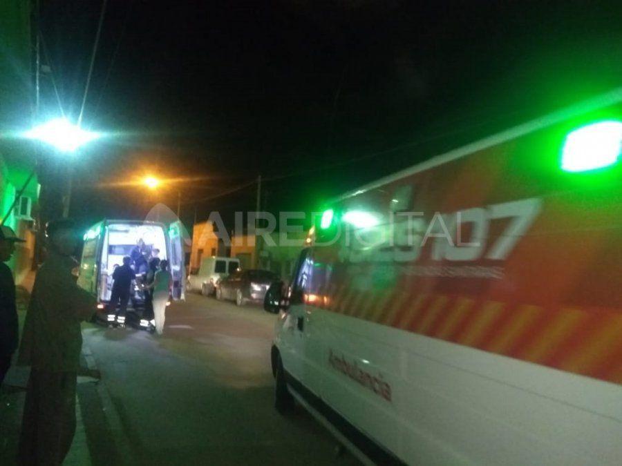 Los servicios de emergencia trasladaron a los heridos