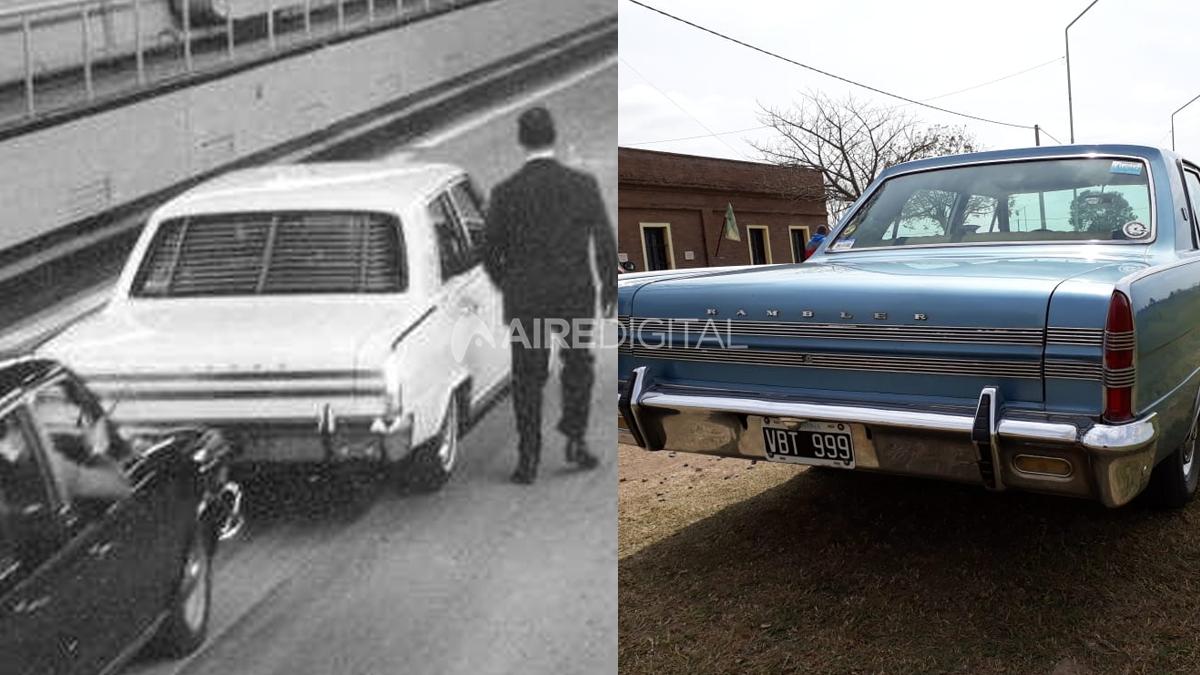 La historia del primer auto que cruzó el Túnel