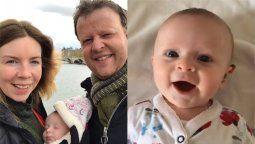 la emocionante reaccion de una bebe sorda tras escuchar por primera vez