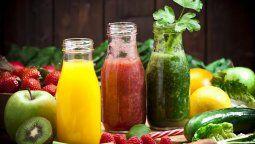 jugos naturales para adelgazar y lograr una panza chata en el verano