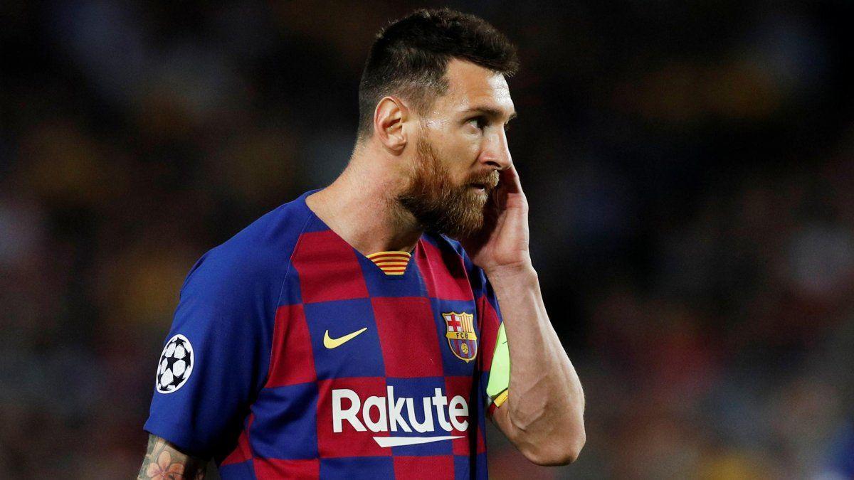 Messi no fue convocado para jugar por Champions ante el Inter
