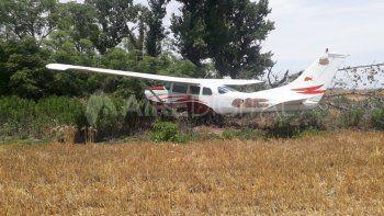 La avioneta hallada en San Fabian no estaba autorizada para volar