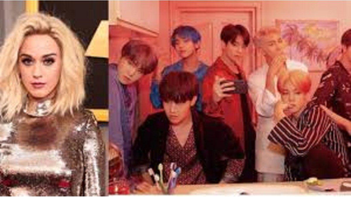 Katy Perry se burla de fans de BTS ¿Odia el K-Pop?