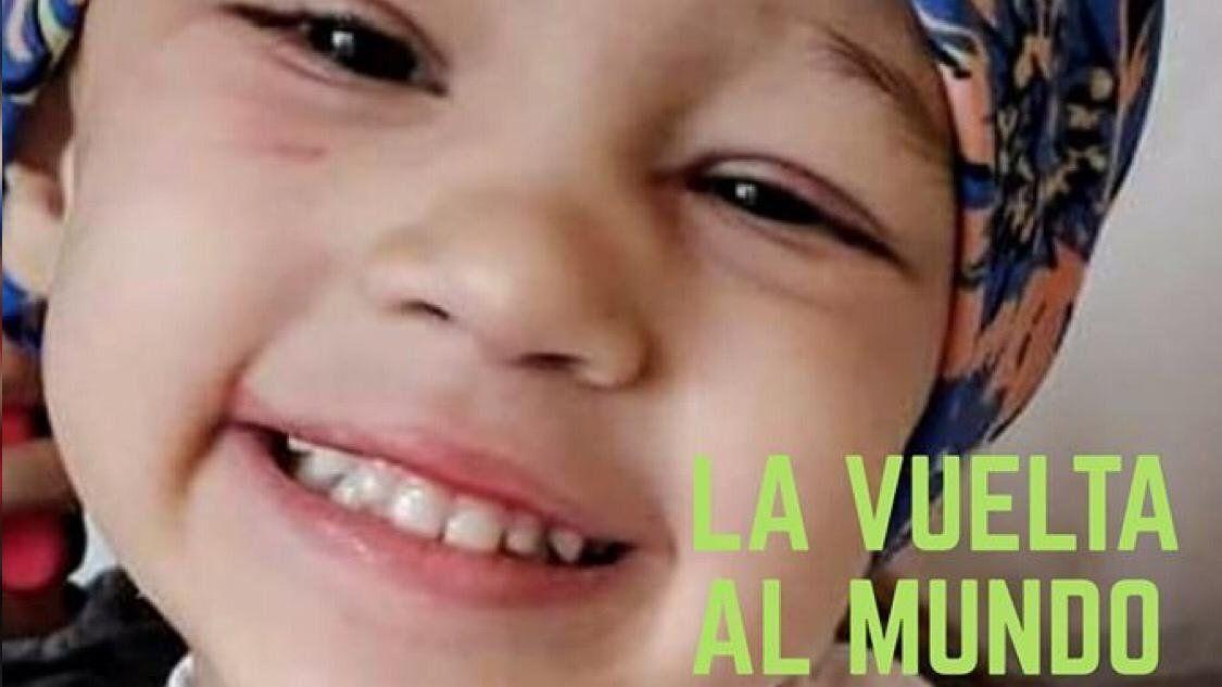 Corredores sumarán kilómetros para ayudar a Paulina, una nena de tres años que padece cáncer