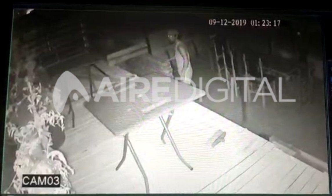 Entró a robar a la terraza de una vivienda y al otro día lo detectaron por las cámaras de seguridad